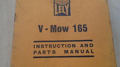 Lely V Mow 165 Instruction Manual 2
