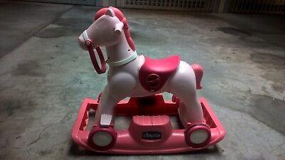 Cavallo A Dondolo Chicco Rosa.Cavallo A Dondolo Chicco Eur 20 00 Picclick It