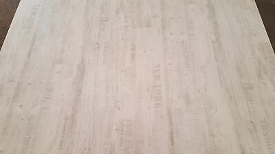 Breite: 200 cm x L/änge: 400 cm PVC Bodenbelag Rustikal Hell mit Aufdruck 11,90 /€ p. m/²