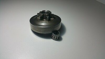 Cloche d'embrayage tronçonneuse élagueuse 25 cm3 pignon 6 dents 3/8 LP 6