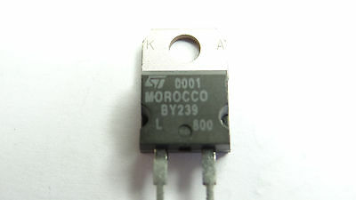 BY239L-800 STMicroelectronics DIODE 800V 10A TO220, Arduino, AVR, Modellbau