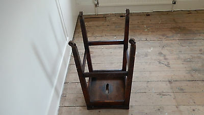 ANTiQUE / VINTAGE SCHOOL STOOL  Possibly Victorian or Edwardian 10