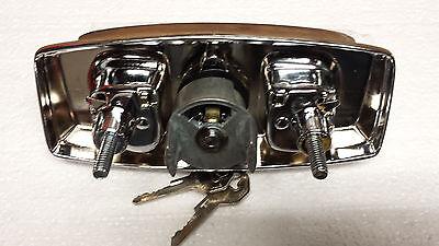 REAR TAILGATE WINDOW Crank Handle with lock & clutch 73-89 Blazer Jimmy  Suburban