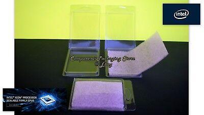 Lot of 10 25 60 100 New Intel Xeon Silver CPU Clam Shell Case Socket LGA3647