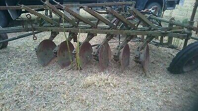 Plough disc antique garden 2