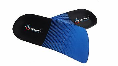 3/4 Orthotic Arch Support Insoles For Plantar Fasciitis Fallen Arches Flat Feet 4
