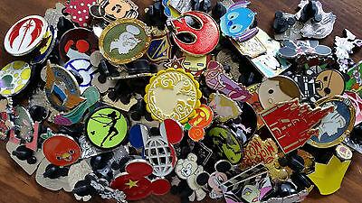 Disney World trading pin lot 50 booster Hidden Mickey princess Donald Star Wars