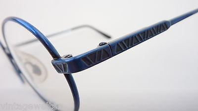 Lamy Kinderbrille Unisex Brille oval Federscharniere dunkelblau preiswert neu 3