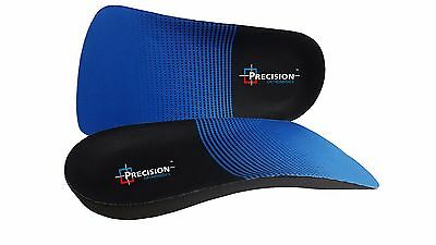 3/4 Orthotic Arch Support Insoles For Plantar Fasciitis Fallen Arches Flat Feet 3