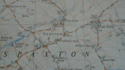 Rare Ordnance Survey Map ST23 Bridgwater W 1967 Enmore North Petherton Spaxton 4