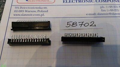 Fujitsu 30pin FPC socket THT pitch 2.54mm FPC1X30PIN Lot-2pcs 3
