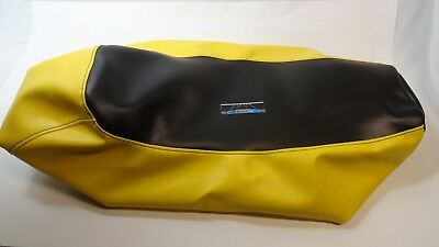 Ski-doo Mini Z 120 Youth Mini-Z Black / Yellow Seat Cover Fits 1998,1999,2000 2