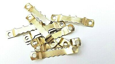 Saw Tooth Hangers 45mm Brassed Picture Canvas Frame Hanging Multi List 6