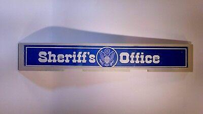 Playmobil Pièce Détachée Grande Enseigne Sheriff/'s Office Cowboy 220 x 50 mm NEW