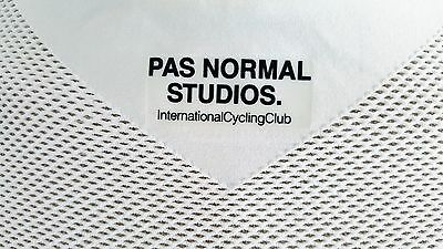 ... PAS NORMAL STUDIOS Cycling Base layer White Half Sleeve 100% Mesh  Fabric 7 3a573e10f