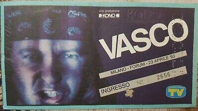 BIGLIETTI CONCERTI VASCO 6x 2