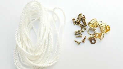 Picture Frame D Rings + Screws With Cord Brass Canvas Hooks Hanger Multi Listing 5