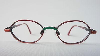 Leo rote Kleinkinderbrille Babyfassung Metallgestell Federbügel lunettes stabil 2
