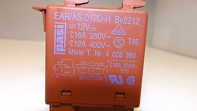 Heizrelais Relais PASI BV 1156//43   Trockner Waschmaschine Miele 1929661