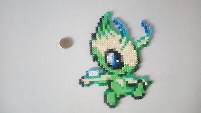 Celebi Pokemon Légendaire Perler Beadspixel Art Eur 920