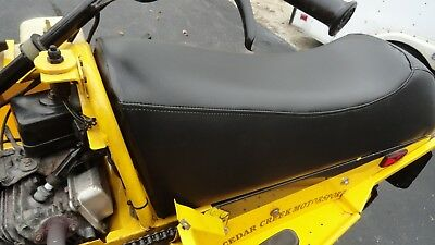 Ski-doo Mini Z 120 Youth Mini-Z Black / Yellow Seat Cover Fits 1998,1999,2000 6