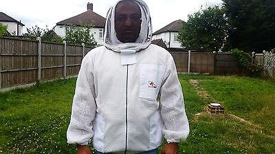Ventilated Beekeeping Jacket Beekeeper Jacket fencing veil bee Jacket ALL SIZES 4