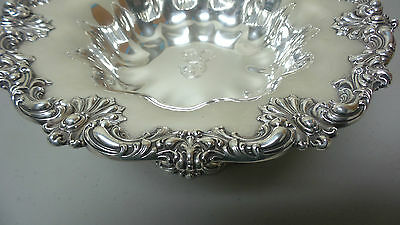 """Gorgeous American Redlich & Co Sterling Silver Large 10.5"""" Compote / Centerpiece 4"""