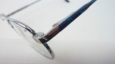 Kuhlmey Kana blaue Kinderbrille Metallfassung Federbügel Pilotenbrille lunettes 3