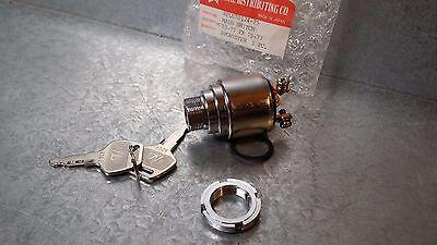 Key Ignition Switch Motorcycle Harley Sportster Shovelhead Ironhead Panhead New