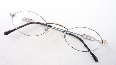Sonnenbrillen & Zubehör Leichte Brille Edelstahl Gestell Kleine Form Damen Dezent Fassung Gold Gr M Augenoptik