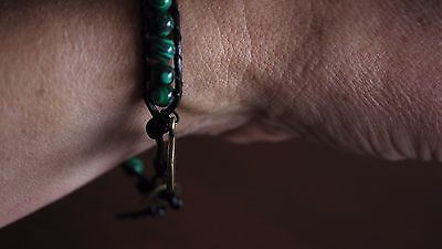 Medley Malachite Beaded Natural Crystal Bracelet Balance Protect Ideal Gift