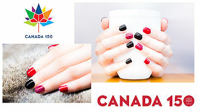 Canada 150 HMD Soak Off UV LED Gel Nails Polish matte top coat no wipe fast cure 9