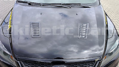 Focus RS MK2 style ABS plastic bonnet vents *FORD PROFILE* universal Exact OE 8