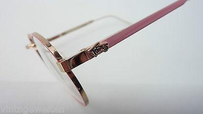 Tifous Pantobrille Metallfassung Kindergestell lunettes pink-gold GR:M 44-20 NEU 3