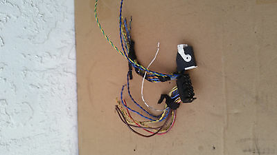 bmw z3 roadster factory stock stereo amplifier amp wiring harness plugs  oem 2