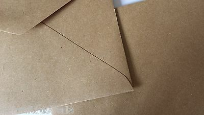 20 Envelopes 130mm x185mm BROWN KRAFT Quality fits 5 x 7 fits PHOTO 90GSM