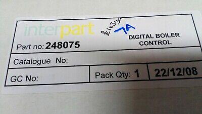 Genuine Interpart Spare Part Number 248075 Digital Boiler Control   (7A) 2