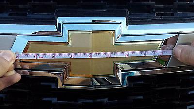 CAJUN RED TRUCK Emblem Wrap Kit - For Chevy Silverado BowTie Badge color  matched