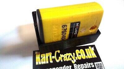 AMB 160 260 Standard /& Flex Transponder Holder with R Clip UK KART STORE