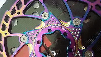 FOURIERS MTB Disc Brake Rotors 140-203mm diameter SUS AL6061 CNC adapter DSK001