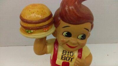 "Ultra Rare 60's Big Boy Restaurant 8"" Japan Papier Mache Bank With Stopper HTF"