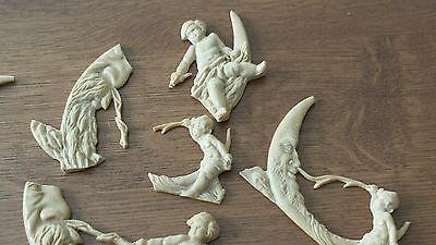 Large Assortment Of Composition/resin Furniture Molds ~Great Detail!