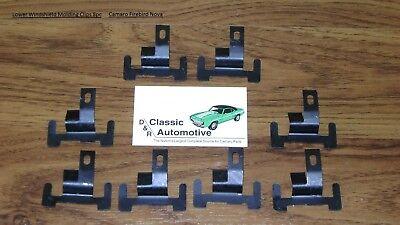 8pcs BMW E32 E34 Z1 525i 535i 735i WINDSHIELD MOULDING TRIM CLIP #5131 8 177 850