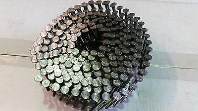 Bostitch 15 Degree, Flat Wound Bright, Ring, Coil Nails - 2.8 x 50mm. F280R50Q 2