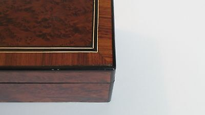 19th C. Napoleon III French Glove Box, Boulle Inlaid Decoration 4