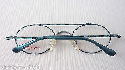 Titanflex superrobuste, flexible Kinderbrille Metallfassung Pilotenform GR:M NEU 4