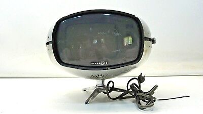 Panasonic Orbitel TR-005 UFO Transistor TV Vintage Mid Century Eyeball 2