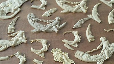 Large Assortment Of Composition/resin Furniture Molds ~Great Detail! 2