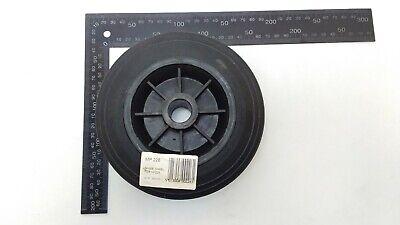 Black Plastic Replacement Jockey Wheel Fits Mp437 155Mm Maypole Genuine Mp226 6