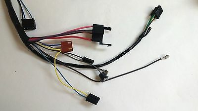 1969-1972 chevy pick up truck under dash wiring harness with gauges  1969 blazer 11